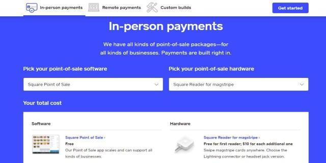 Square Payment Plans