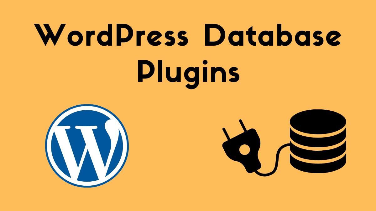 WordPress DB Plugin